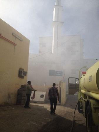 حريق شجيرات يمتد إلى سكن عزاب في الخميس ولا إصابات - المواطن