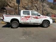 لجنة إزالة السيارات التالفة تتلف مركبات الداير الجديدة