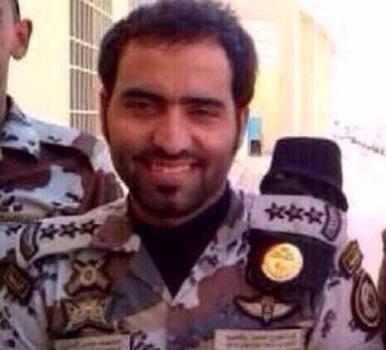 النقيب محمد حمد الجعفري العنزي