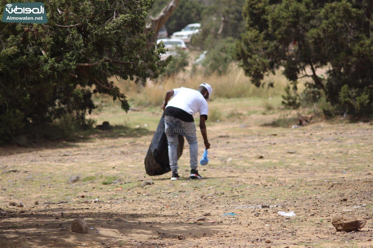 نظيف متنزهات عسير