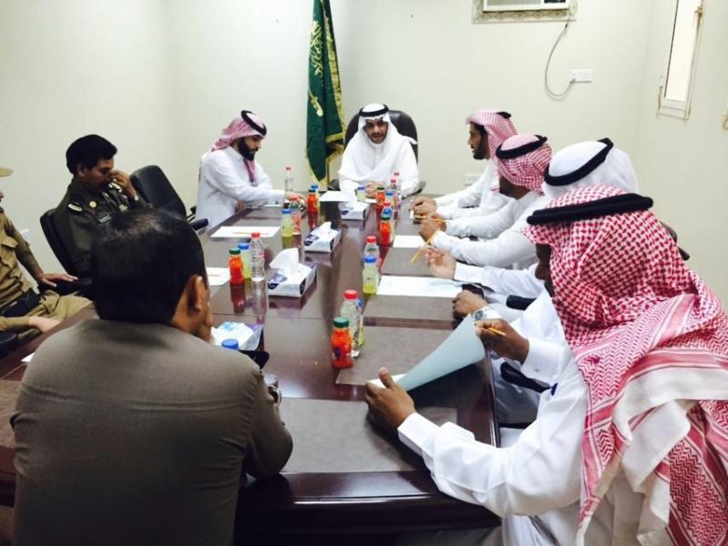 رئيس مركز ابوعجرم المكلف بدر بن عيد الطراد النماصي