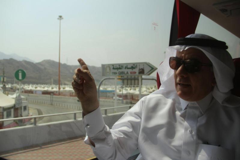 جولة معالي وزير البيئة والمياه والزراعه بالمشاعر المقدسه