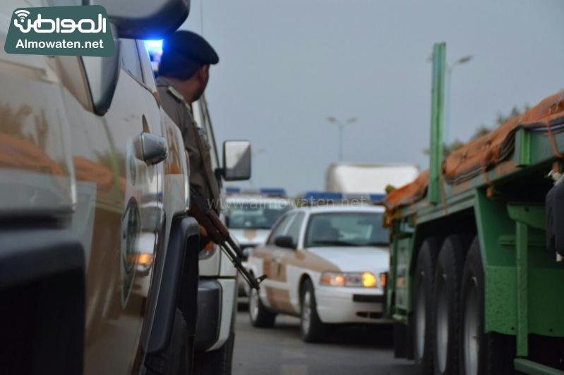 """عدسة """"المواطن"""" ترصد الجهود الأمنية الكبيرة من عسير لتأمين الحجاج"""