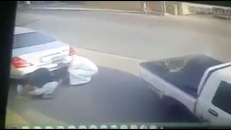 احراق سيارة مواطن