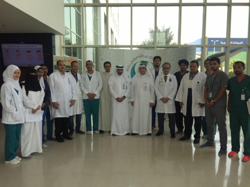 نجاح أول عملية قلب مفتوح في جدة