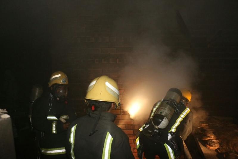 حريق بشرايع مكة