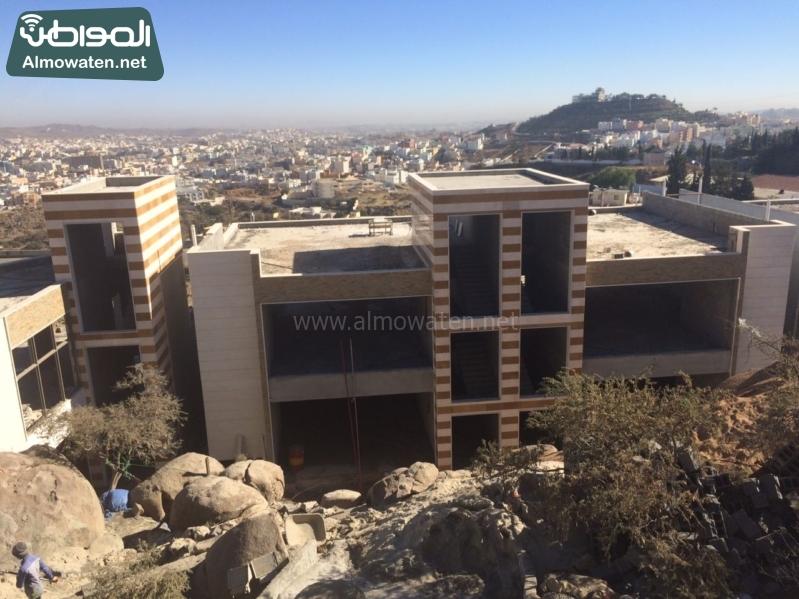 بالصور المواطن ترصد مشروع المدينة العالية في أبها إطلالة