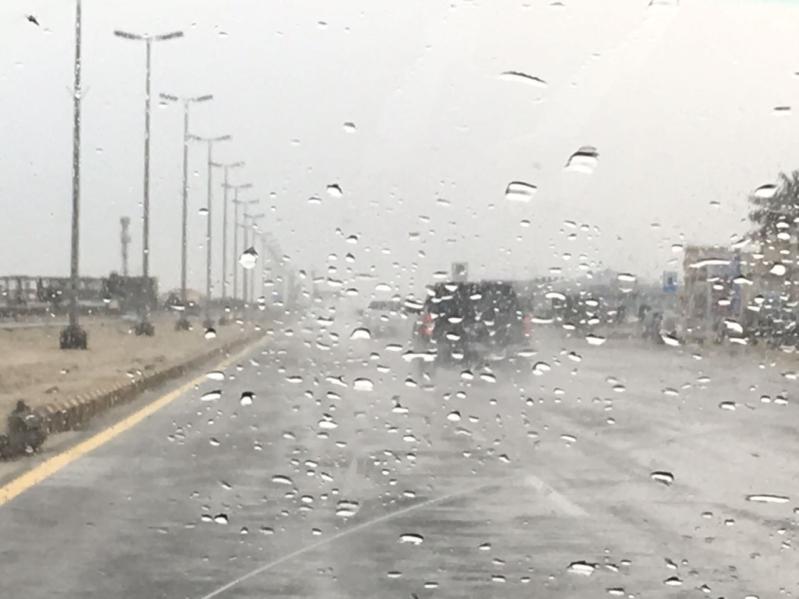 أمطار الخفجي