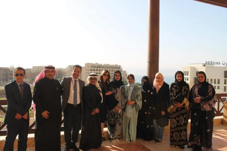 السفارة السعودية بالأردن تشارك في افتتاح مؤتمر الإعلاميات العربيات الـ 13