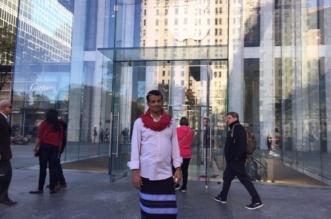 """بالصور.. المالكي يحكي لـ""""المواطن"""" قصة لبس """" الشميز والوزرة"""" في شوارع نيويورك - المواطن"""