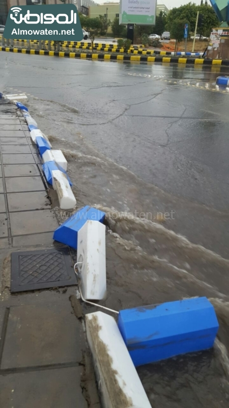 انهيار مشروع الرصيف المنار أمام الأمطار