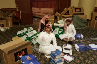 """""""المواطن"""" ترصد جهود طلاب جامعة الملك خالد للاعداد لمؤتمر الاعلام والارهاب"""