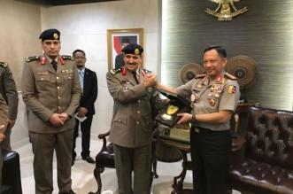 بالصور.. الفريق المحرج يبحث مع قائد الشرطة الإندونيسية أوجه التعاون الأمني - المواطن