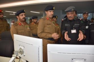 الفريق العمرو يزور مركز عمليات 911 - المواطن