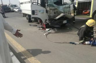 بالصور.. حادث مروع يشلّ حركة كوبري فلسطين وشرق الخط السريع - المواطن