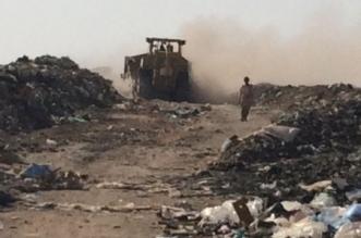 بلدي السليل والبلدية يقفان على مكب النفايات - المواطن