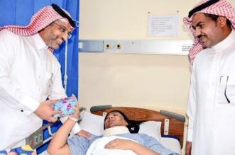 مبادرة أمنية تُبهج المرضى والمنومين بمستشفى مركزي جازان - المواطن