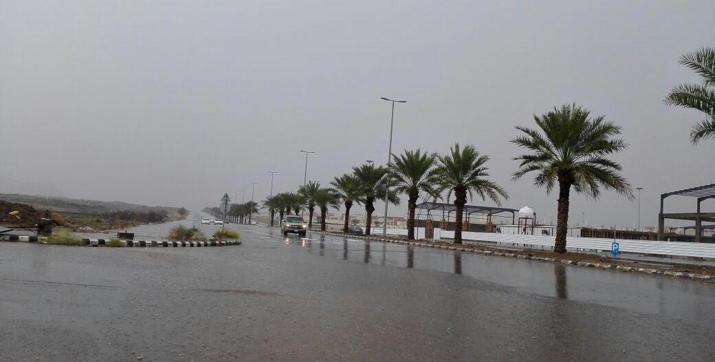 الأرصاد: أمطار رعدية على جازان حتى الثامنة مساء