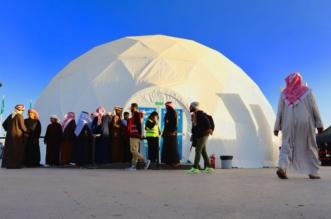 بالصور.. الدهناء خضراء والطاقة البديلة تجعلان مهرجان الملك عبد العزيز للإبل صديقًا للبيئة - المواطن