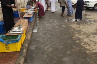 بالصور.. تنظيف سوق الخضار والأسماك والإطاحة بالباعة المتجولين بصامطة - المواطن