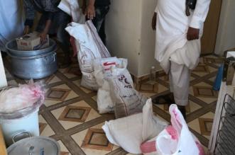 بالصور.. ضبط مزرعة حولتها عمالة إلى معمل للأكلات الشعبية غير الصحية بأحد المسارحة - المواطن