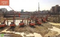 إنجاز21 % من أعمال الحفر بمحطة القطار بمنطقة قصر الحكم