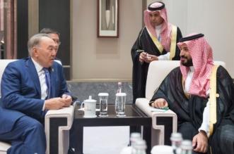 ولي ولي العهد يلتقي رئيس كازاخستان على هامش قمة العشرين - المواطن