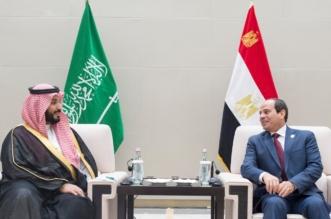 ولي ولي العهد يلتقي الرئيس المصري على هامش انعقاد قمة مجموعة العشرين - المواطن