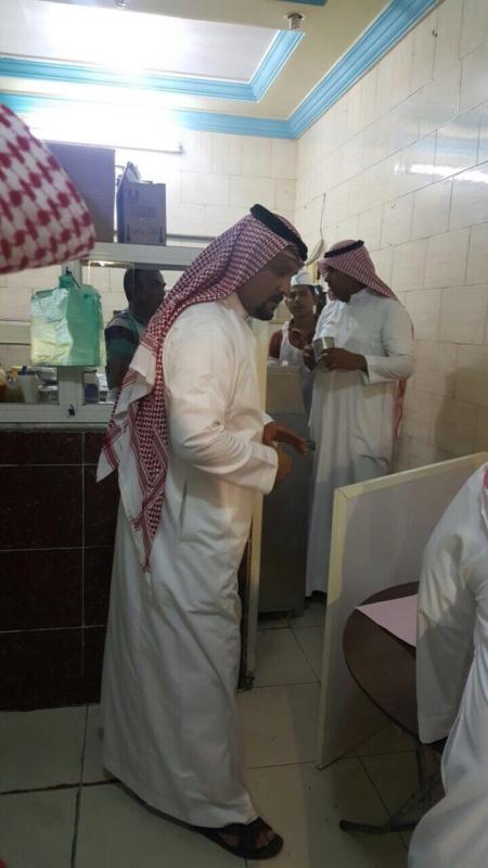 جولة بلدية أضم الرقابية على المحلات التجاريه