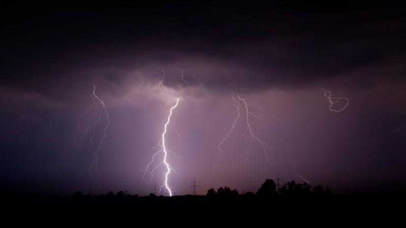 أمطار ورياح على الشرقية حتى الرابعة فجرًا