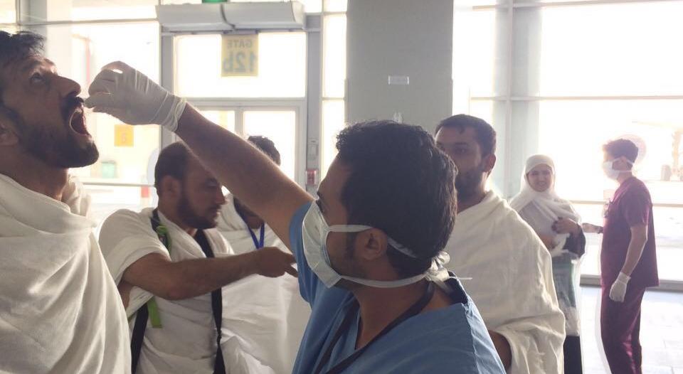 180 سيارة إسعاف ومستشفى ميدانيا ضمن أسطول الصحة في المشاعر المقدسة