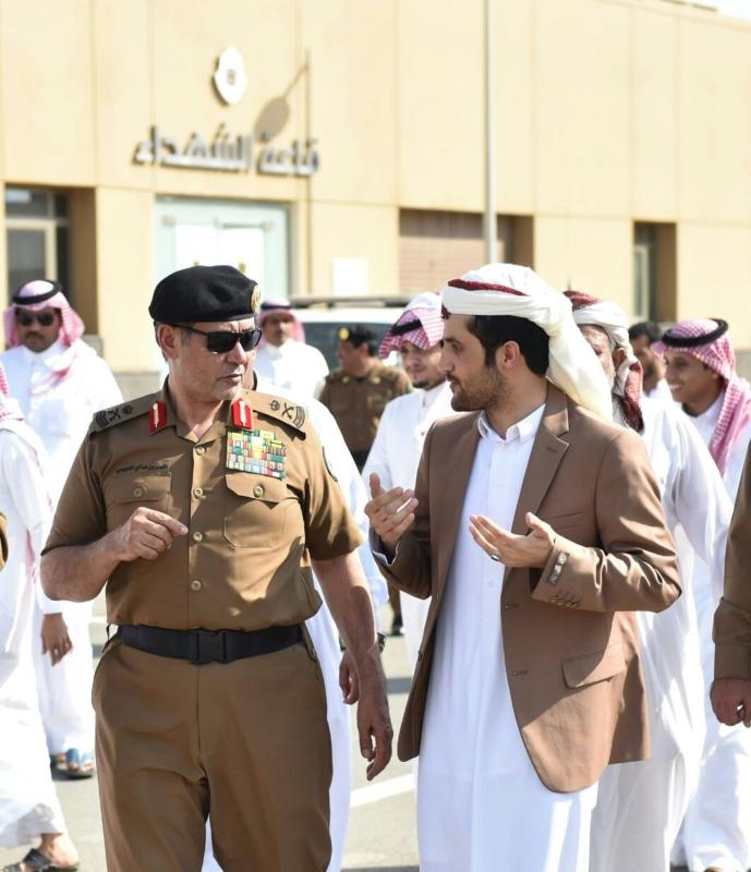شرطة جازان توثق صلح قبيلتين سعودية ويمنية