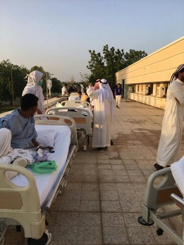 حريق يُخلي مستشفى صامطة العام