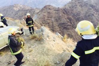 مصرع 5 وإصابة 2 من عائلة واحدة سقطوا من مرتفع جبلي في الجفو - المواطن