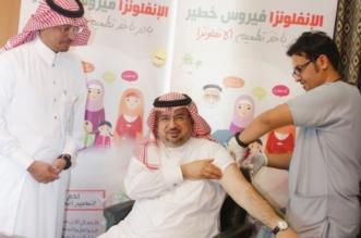 محافظ محايل يدشن حملة التطعيم ضد الإنفلونزا - المواطن
