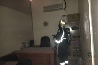 السيطرة على التماس كهربائي في مركز صحي بالمدينة - المواطن