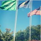 لأول مرة.. رفع العلم السعودي في جامعة أميركية