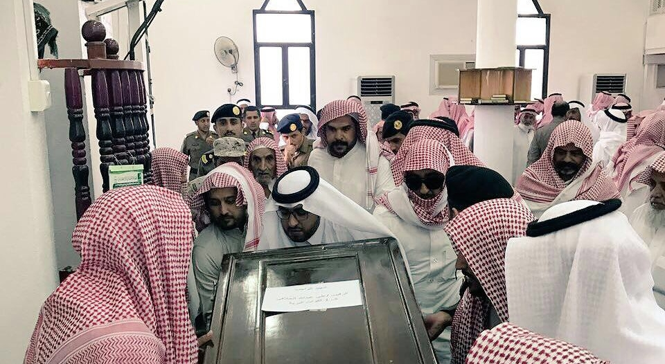 بالصور.. مشهد مهيب في توديع الشهيد الحلافي ببشائر بلقرن