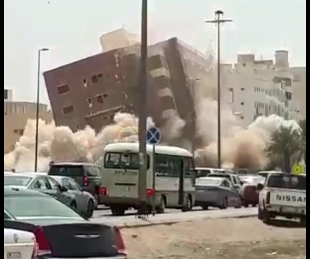 #عاجل بالفيديو.. مدني المدينة يرد على مقطع إزالة أحد المباني: اتّخذنا جميع إجرءات السلامة