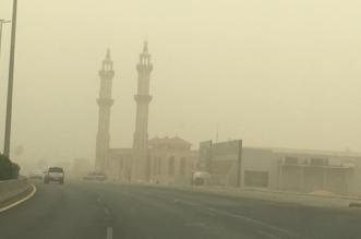 غبار وأتربة مثارة تحجب الرؤية في نجران - المواطن