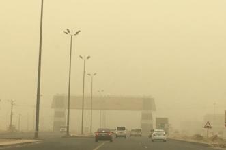 استمرار الرياح المثيرة للأتربة والغبار على 8 مناطق - المواطن