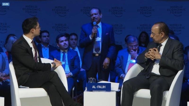 وزراء الطاقة والتجارة والمالية يستعرضون رؤية 2030 في منتدى دافوس