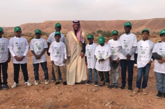 للوصول إلى المليون.. أيتام دار التربية بشقراء يشاركون في زراعة 30000 شجرة - المواطن