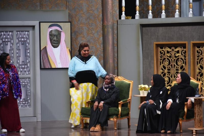 بالصور هيا الشعيبي تقدم البيت بيت أبونا لـ4000 زائر في الرياض صحيفة المواطن الإلكترونية