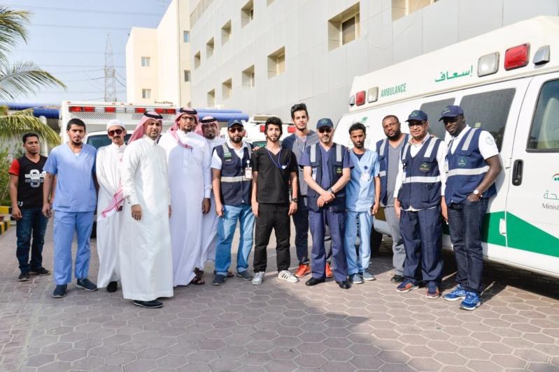 تفويج عدد من الحجاج المنومين بمستشفيات جدة إلى مكة لاتمام نسكهم