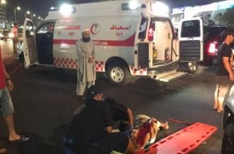 إصابة شخص في حادث دهس بشارع الستين - المواطن