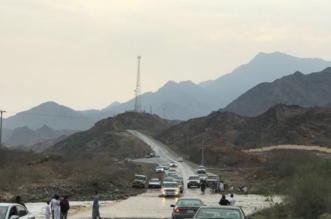 بالفيديو والصور .. أمطار الخير تسقي أضم ومراكزها - المواطن