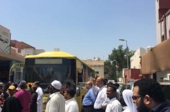 بالصور.. إصابة 25 طالبة في حريق مدرسة بنات بمكة - المواطن