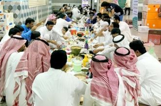 إفطار جماعي لمنسوبي مستشفى أبو عريش في جازان - المواطن