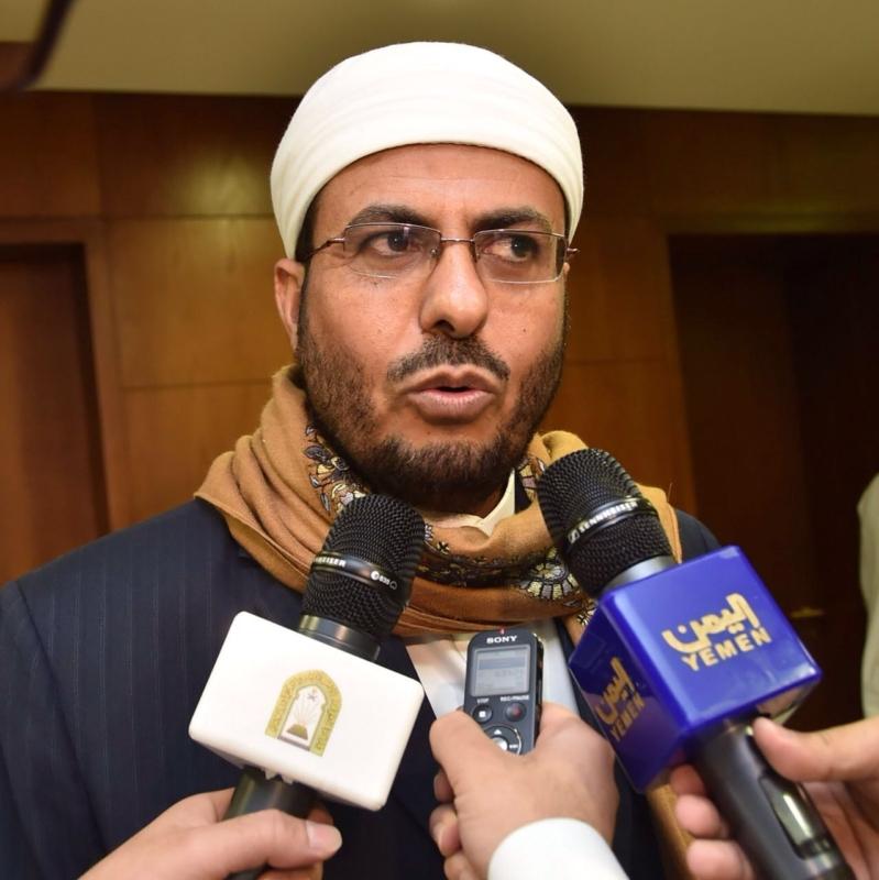 وزير الأوقاف اليمني : ليس غربياً على المملكة أن تنصر قضايا اليمن .. والحوثيون جدَّدوا تاريخ أجدادهم أبرهة والقرامطة